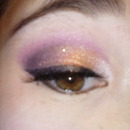 gold and violet