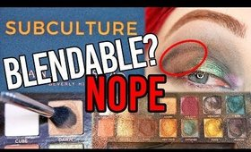 ABH Subculture Palette TEAR DOWN + FAIL TUTORIAL- What Happened???