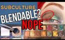 ABH Subculture Palette TEAR DOWN + FAIL TUTORIAL- What Happened???