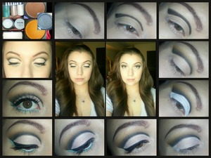 Cut crease pictorial not my favorite but its cool :))