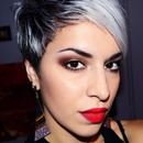 Smokey Bedroom Eyes And Red Lips