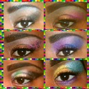 different e makeup