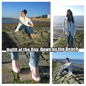 NEW BLOG POST: Outfit of the Day: Down by the Beach! Head over to: http://bootcampbeauty.com/outfit-of-the-day-down-by-the-beach/ YouTube: http://www.youtube.com/user/BootCampBeautyTips Alloy Apparel H&M #MyAlloy #MyApparel #hm #beach #sunny #Cuxhaven #Germany