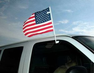 AGAS Online Flag Store carries all of USA state flags and USA car flags, which includes all 50 states of America, and flags for US territories and Washington DC. These flags are made from durable and heavy duty materials so you can use them to decorate your house or establishment. http://onlineflagstore.com/USA-Car-Flags-USA-Window-Decals-USA-Magnetic-Ribbons_c3714.htm