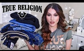 TRUE RELIGION TRY ON CLOTHING HAUL!