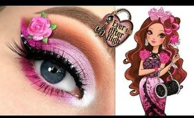 Ever After High BRIAR BEAUTY Makeup Tutorial
