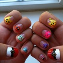 Pokemon Nail Art