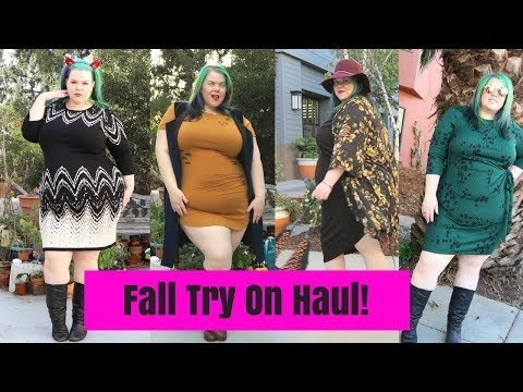 729a3cc98af HUGE Fall Plus Size Fashion Try On Haul   Kimonos and Velvet ...