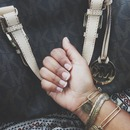 Michael Kors Bag // Alex and Ani Bracelets