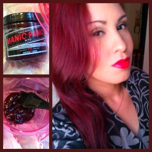 I love Manic Panic! I have only dyed my hair three times in the past five months and maintained the red using this stuff. It's all natural so it wont fry your hair. My color is Infra Red and I leave it on for an hour. After that I was a couple of times a week and use dry shampoo on those days I don't It's hard work to maintain but have been loving it so much.
