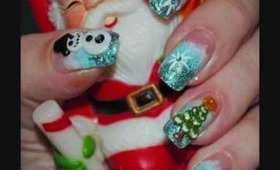 My Nails for Christmas + Tutorial