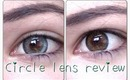 Grey & Brown Circle Lens review & COUPON CODE ft. PinkyParadise