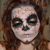 Autumn Sugar Skull