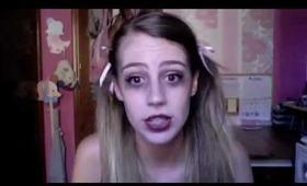Dead Cheerleader Halloween Makeup Tutorial
