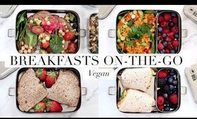 School & Work Savoury Breakfasts (Vegan/Plant-based)   JessBeautician
