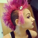 Pink Mohawk!