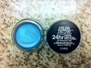 Maybelline's Color Tattoo - Tenacious Teal