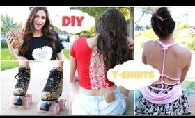 Easy & Unique DIY T shirts for Spring Break!!