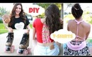 Easy & Unique DIY T shirts for Spring Break!!