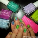 Essie Naughty Nauticals Look for #INAD