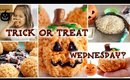 Trick or Treat Wednesday! | Rice Krispie Treat Pumpkins!