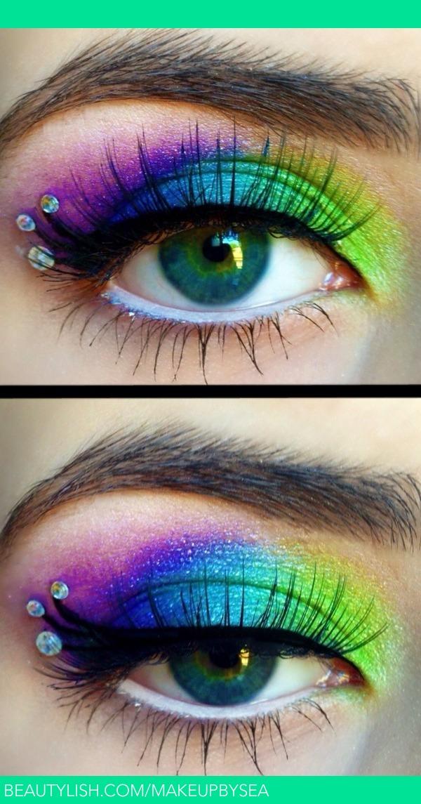 Peacock Makeup Sarah A S Makeupbysea Photo Beautylish
