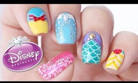 Disney Princess Nail Art Designs!