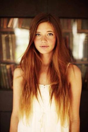 Redhead Ombre Help Beautylish