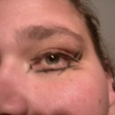 Abstract Eyeliner