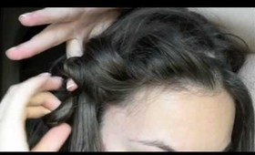 #6 Greek hairstyle for long hair