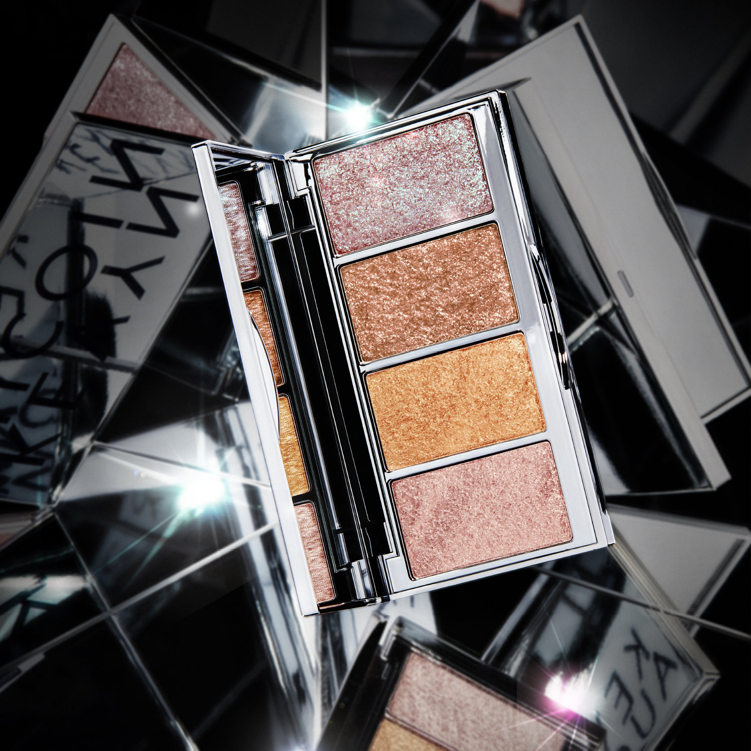Alternate product image for Kaleidochrome All Over Highlight Palette shown with the description.
