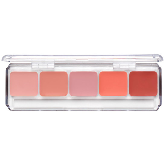 RCMA Makeup Cream Cheek Color Palette product smear.