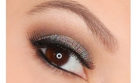 Video Tutorial: Valentine's Day Makeup Glitter and Shimmer