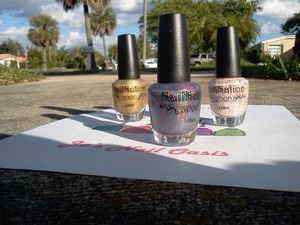 I ordered some polish from Maria @ Nailnation 3000. I am so pleased with her products! Check her out https://www.facebook.com/NailNation3000