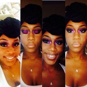 IG: agoldengal  Personality or mood= makeup look