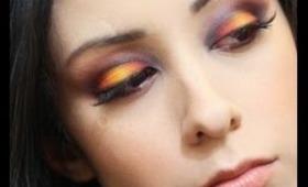Hunger Games Katniss Girl On Fire Inspired Eyeshadow