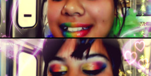 i wore this look for the 2012 gay pride parade :)