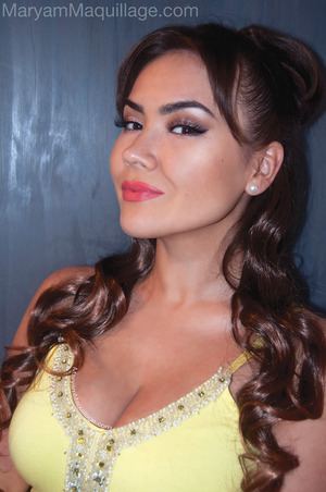Simple smokey prom look. All info on my blog:  http://www.maryammaquillage.com/2012/05/if-i-were-prom-queen-in-2012.html