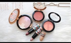 Review & Swatches: MAC Vibe Tribe Collection | Dupes!