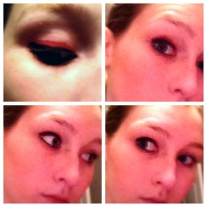 Playin with some new pink liner came up with this