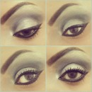 Arabian make-up by me!^^