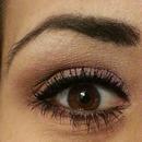 Purple and Brown Eyeshadow