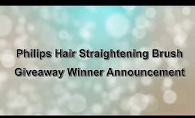 Philips Straightening Brush Contest Winner