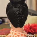Converse French Braid With Braided Bun