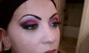 I love this hot pink from MUFE. It brings out hazel and green eyes.
