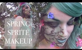 Spring Sprite Makeup Tutorial   NYX Face Awards 2015 Entry