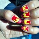 Mcdonald's Themed Nails