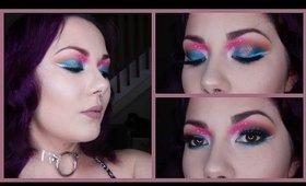 -Space Angel- Creative Eyeshadow Tutorial