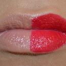 Nude vs Red Lip