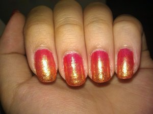 I think this was my first / last gradient. It was fun, should do it again. Haha.